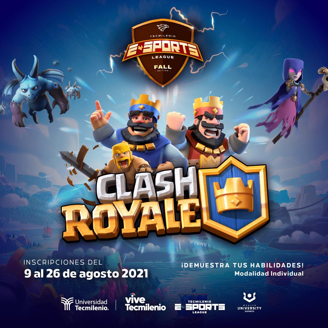 Torneo de Clash Royale México Tecmilenio